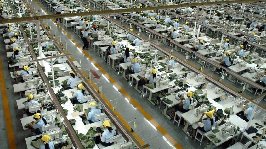 Chinese garment workers